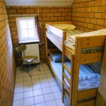 slaapkamer beneden, stapelbed